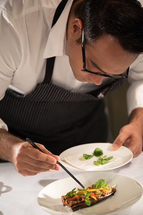 Platting, 高級料理, 菜食主義者, ミシュランの星を