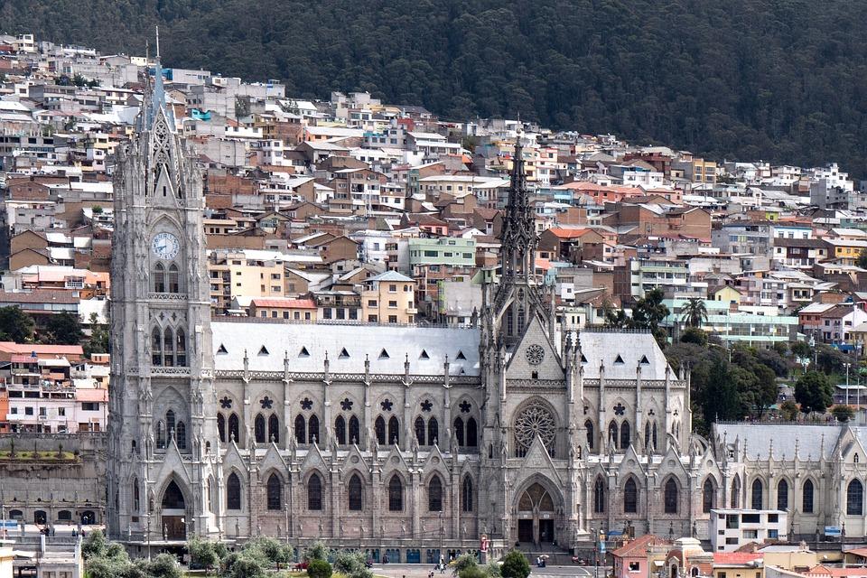 Équateur, Quito, Basilique, Eglise, L'Architecture