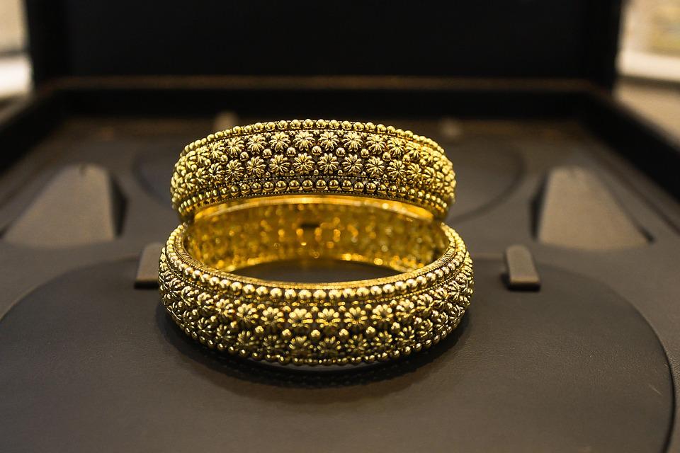 Golden Gold Jewellery Free Photo On Pixabay