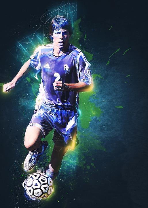 Fussball Fussballspieler Football Kostenloses Bild Auf Pixabay