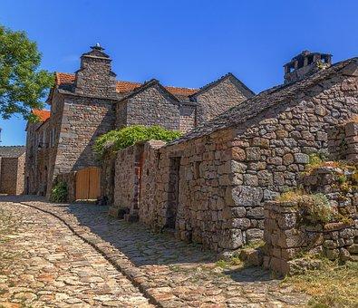 Lozere, Village, Ancien, France, Terroir