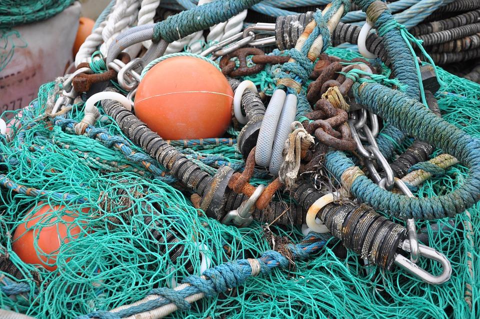 Reti Da Pesca, Reti, Pesca, Mare, Porto