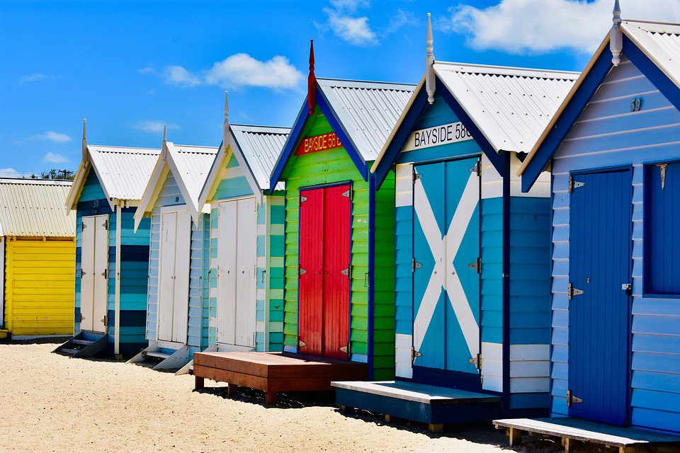 Melbourne, Brighton, Strand, Australien, Victoria