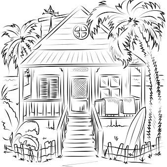 Ausmalbilder Hauser Ausmalbild Haus Zum Ausdrucken