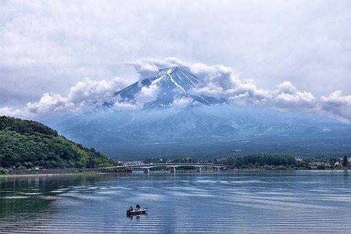 Jepang, Gunung, Gunung Berapi, Fuji