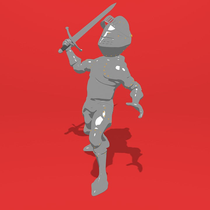 Knight Middle Ages 3D - Free image on Pixabay