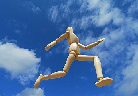 Running, Freedom, Sky, Run, Motivation