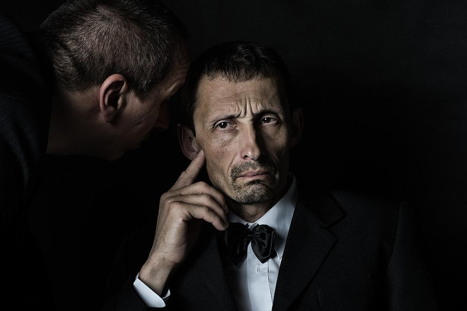 Godfather, Portrait, Actors, Man, Listening, Whisper