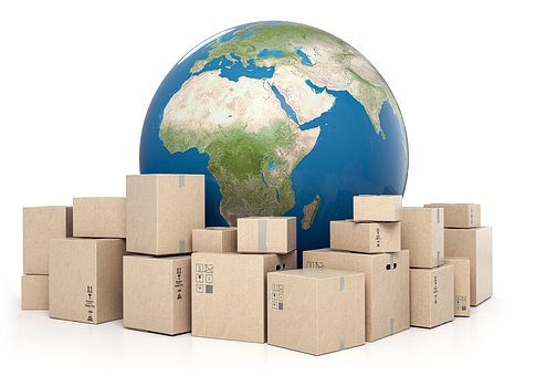 World, Packages, Transportation, Import
