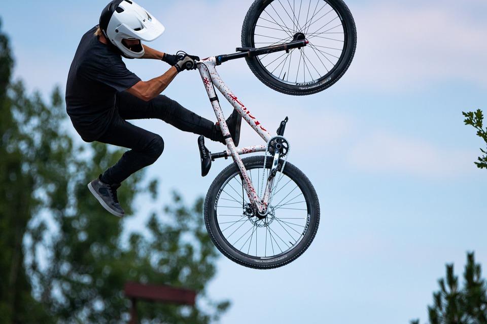 Bici Di Montagna, Sport, Bici, Salto