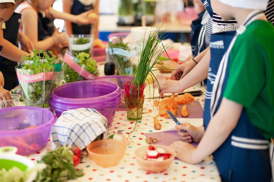 Cooking, Lesson, Workshops, Children, Workshop, Work