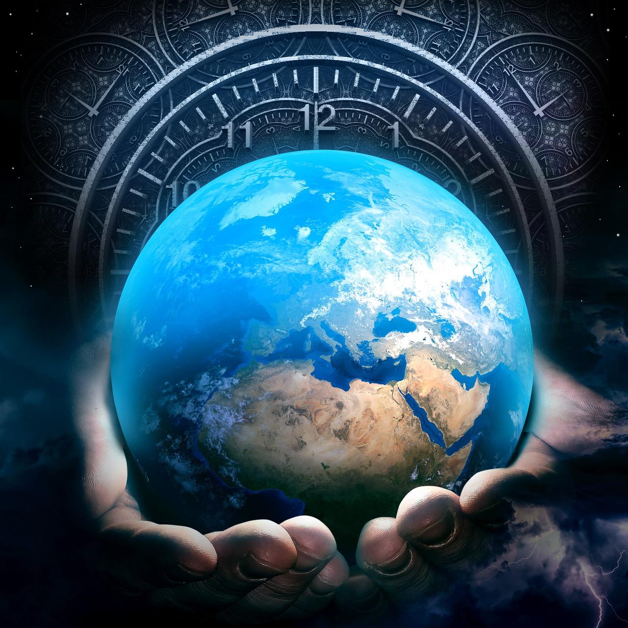 Earth Hour Clock - Free photo on Pixabay
