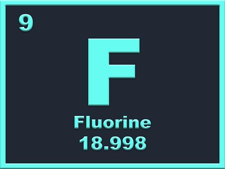 most reactive nonmetal fluorine