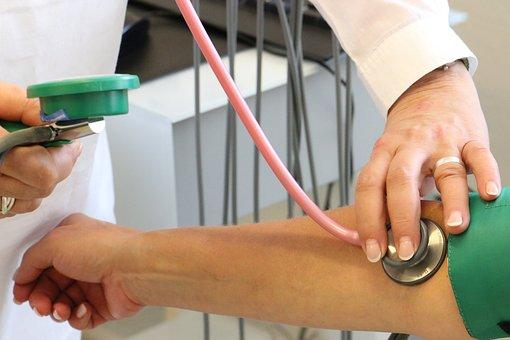 Doctor, Investigation, Blood Pressure,Heart Blockage, Heart Attack