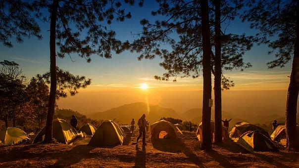 キャンプ, 火, テント, 自然, キャンプファイヤー, 冒険, 夜, 屋外