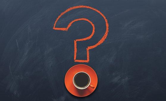 質問, 疑問符, 書きます, ブログ, 誰, 何, どのように, なぜ, どこ
