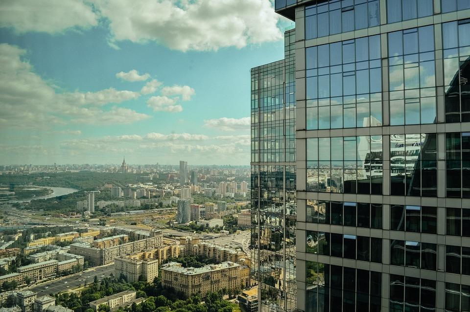 Megalopolis, Wolkenkratzer, Moscow City