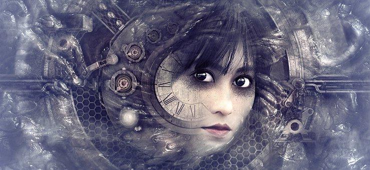 Resultado de imagen de reloj gotico del tiempo