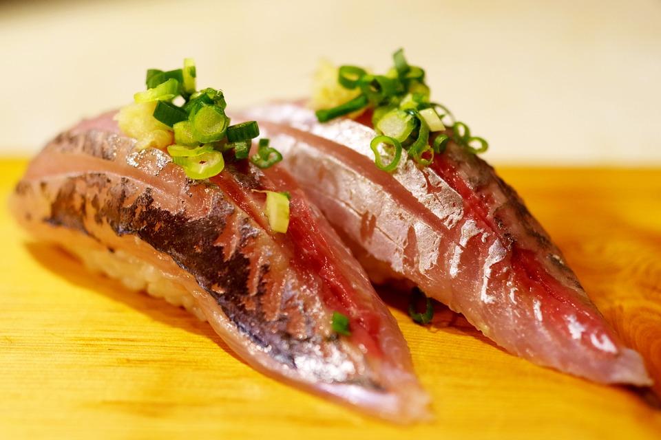 レストラン, 和食, 日本食, アジ, 鯵, 寿司, 鮨, 料理, 食事, 新鮮, 美食, 最高品質, 魚料理