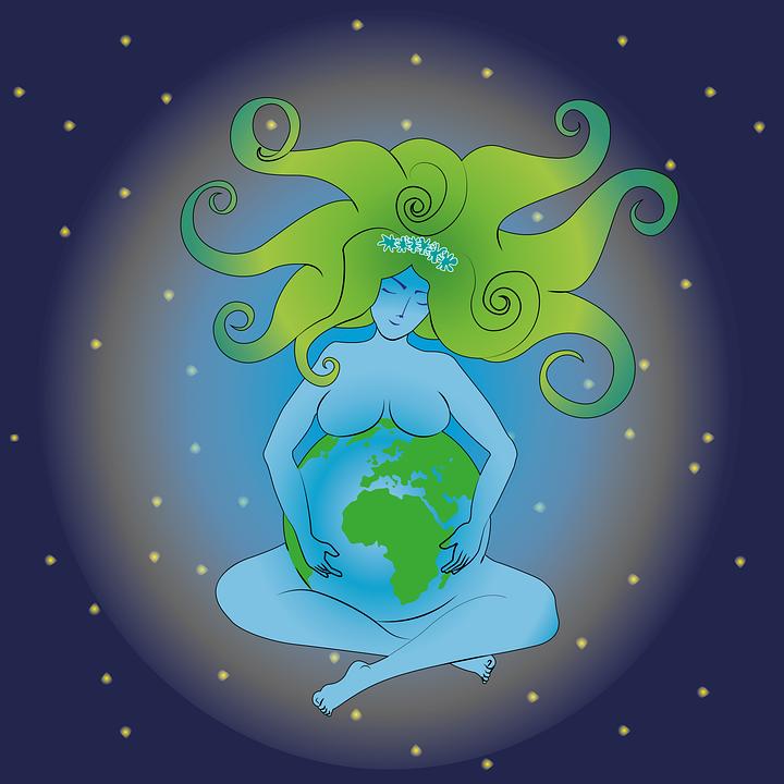 Aarde, Moeder Aarde, Moeder, Natuur, Vrouwen, Hemel