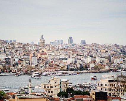 Istanbul, Galata Tower, Galata, Turkey