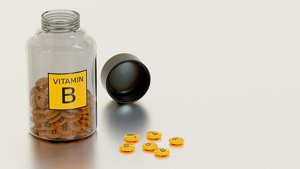 Vitamin B, Tablet, Success, Glass