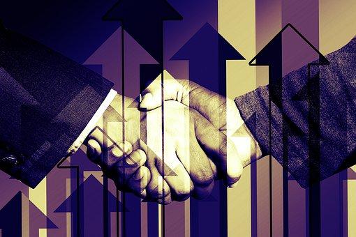 Negocios, Apretón De Manos, Arreglo