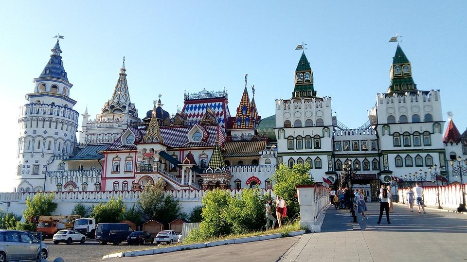 Mosca, Izmailovo, Il Cremlino, Russia, Architettura