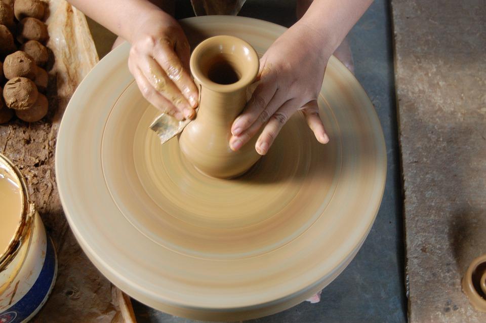 Ręka, Glina, Rzemiosło, Ceramika