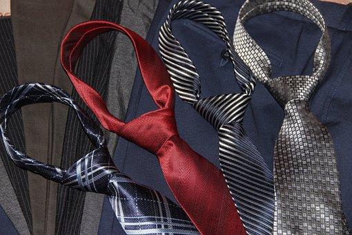 ネクタイ, 衣類, エレガント, ビジネス, 成功、, 大人, 人々, 公式