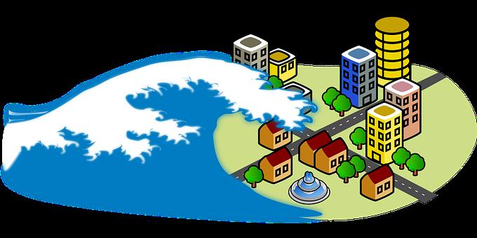 4+ Free Tsunami & Wave Vectors - Pixabay