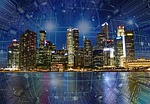Smart cities can use existing Internet of Things technologies and do not depend on 5G., From PixabayPhotos
