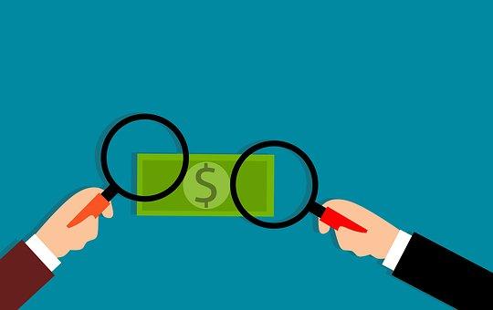 偽の, お金, 詐欺, 銀行, 破産した, 破産, 現金, コンセプト, 破損