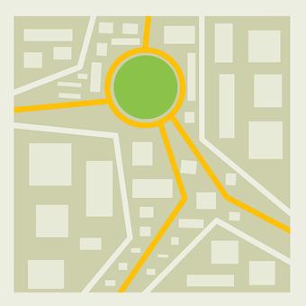 City Map, Location, Navigation, Map