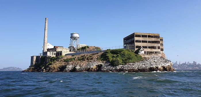 Alcatraz, San Francisco, Cal, Prison