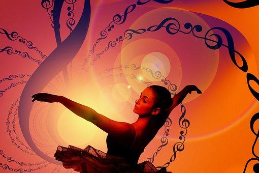Dance, Dancer, Clef, Grades, Vibration
