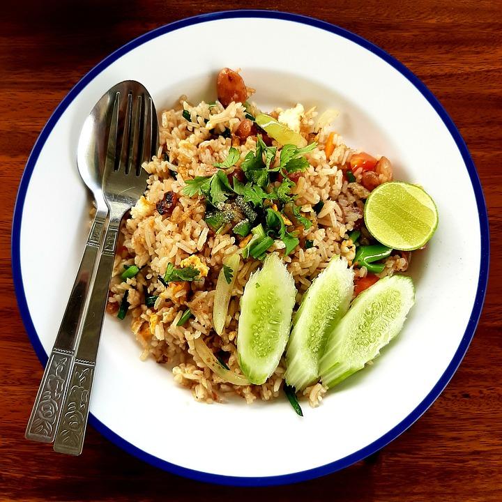 Nasi Goreng, Makanan, Makan Siang, Denner, Makan