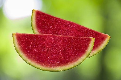 Melon, Watermelon, Fruit, Summer, Red