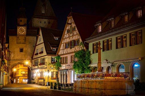 Fachwerk, Mittelalter, Stadtor