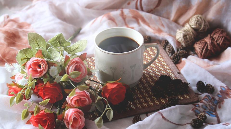 Gorąca Kawa Filiżanka Kawy łóżko Darmowe Zdjęcie Na Pixabay