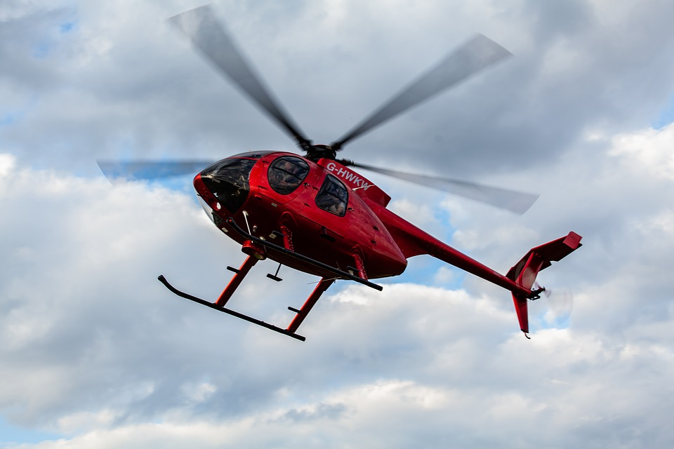 Helicopter Taking Off Take Free Photo On Pixabay