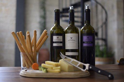 Wine, Bottles, Bottle, Glass, Beverage