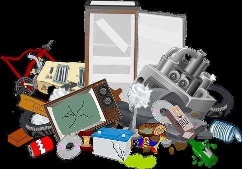 Abfälle, Altmetall, Rost, Schimmel