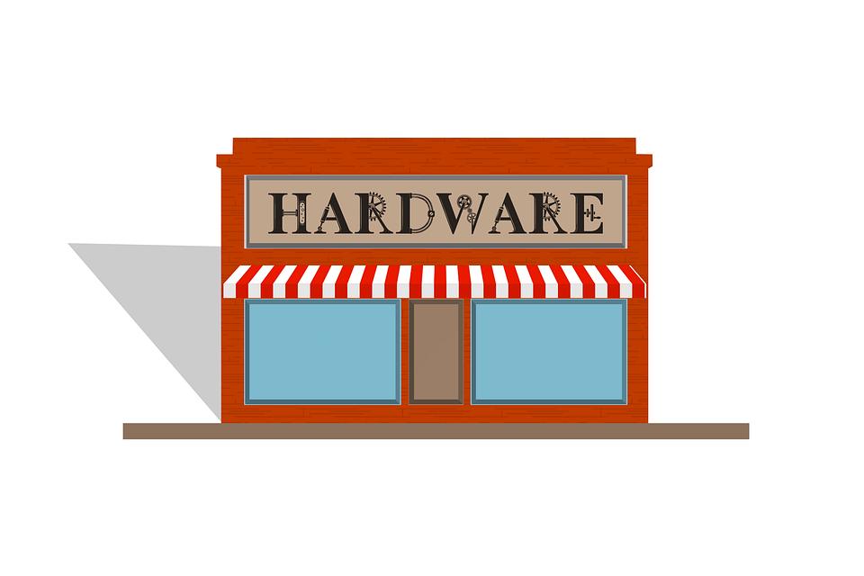 De Hardware, Tienda, Signo, Materiales, Herramientas