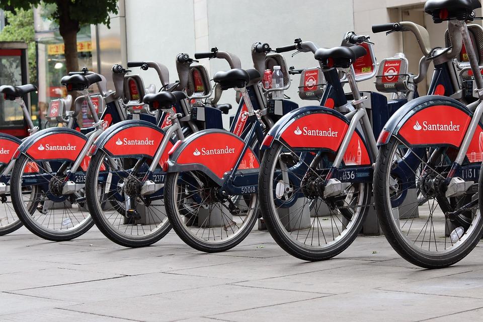Santander Cycle, London