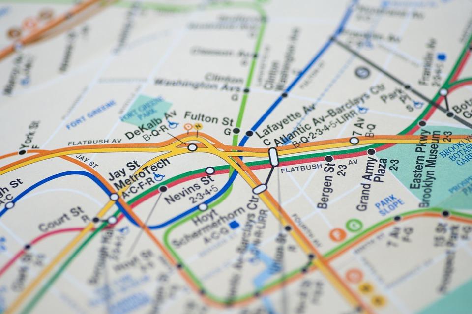 Metro NY map