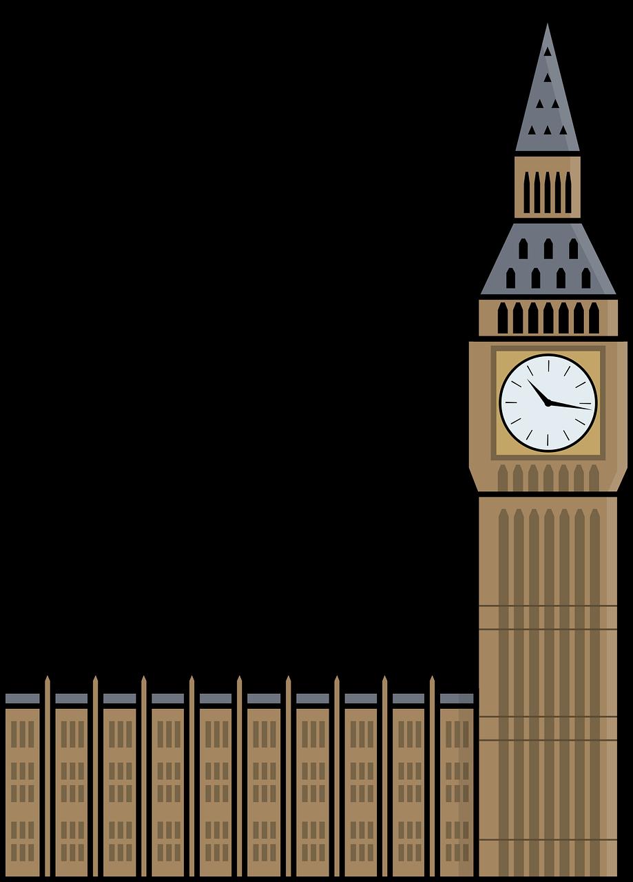 Big Ben Kartun London Gambar Vektor Gratis Di Pixabay