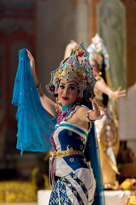 Dancer, Balinese, Culture, Girl, Performance, Indonesia