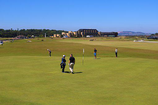 Golf, Old Course, St Andrews, Golfers