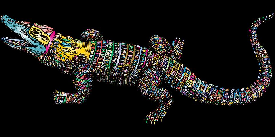 Crocodile Alligator Dessin Au Images Vectorielles Gratuites Sur Pixabay